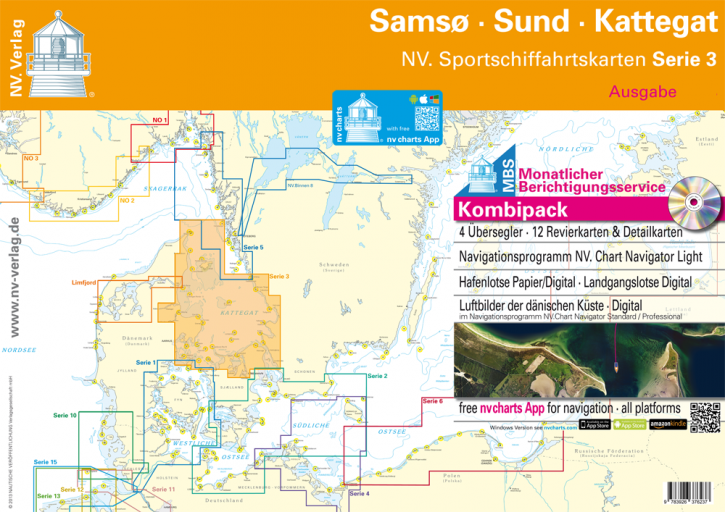 NV.Serie 3, Samø - Sund - Kattegat