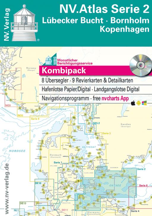NV.Atlas Serie 2, Lübecker Bucht - Bornholm