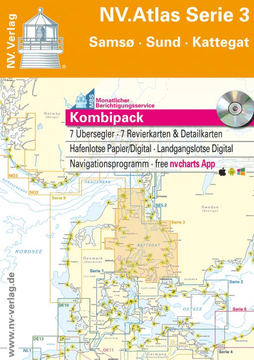NV.Atlas Serie 3, Samø - Sund - Kattegat