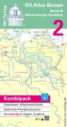 NV.Atlas Binnen 2, Berlin & Mecklenburger Gewässer