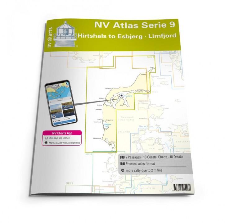 NV.Atlas Serie 9, Hirtshals to Esbjerg & Limfjord