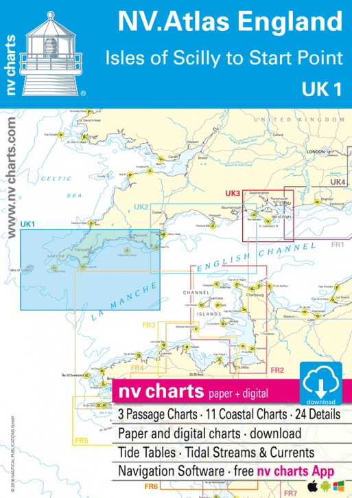 NV.Atlas UK 1 England, Scilly Isles to Start Point