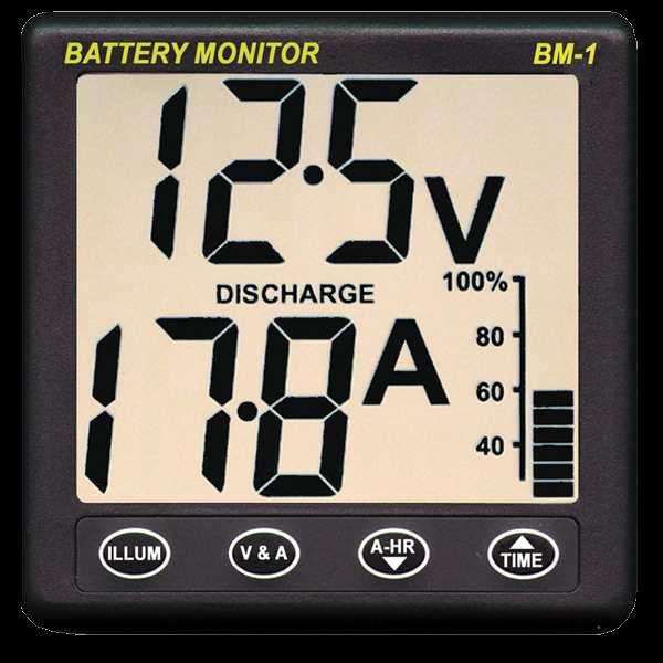 NASA - Batteriemonitor BM-1 / 12 V