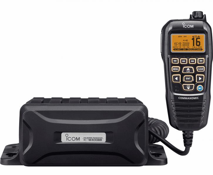 "ICOM IC-M400BBE UKW-Funkgerät ""Black Box"" mit GPS"