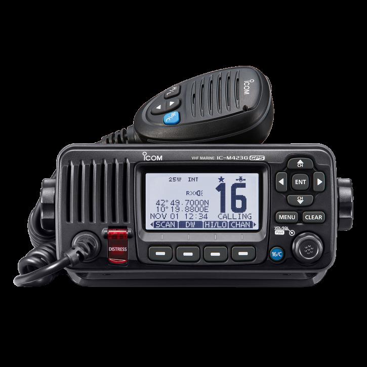 ICOM IC-M423GE Einbaufunkgerät mit GPS