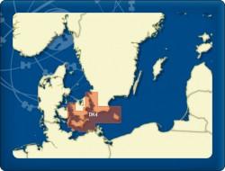 DKW Delius-Klasing 4 Großer Belt bis Bornholm - Digitale Seekarte
