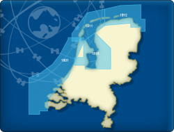 DKW 1800 Niederlande Nord - Digitale Seekarte