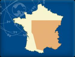 DKW Frankreich Süd - Digitale Binnenkarte