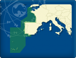 DKW Imray ID40 Atlantik Küste Frankreich, Spanien, Portugal - Digitale Seekarte