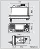 ICOM IC-M330E Einbaufunkgerät