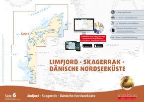 Delius-Klasing Sportbootkarten Satz 6: Limfjord - Skagerrak - Dänische Nordseeküste