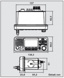 ICOM IC-M330GE Einbaufunkgerät mit GPS