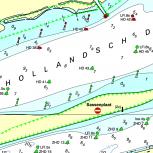DKW 1800 Niederlande Süd - Digitale Seekarte
