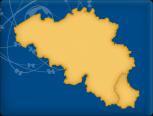 DKW Belgien Binnen - Digitale Binnenkarte