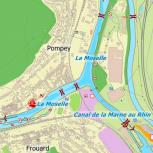 DKW Rhein und Mosel - Digitale Binnenkarte