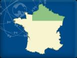 DKW Frankreich Nord - Digitale Binnenkarte